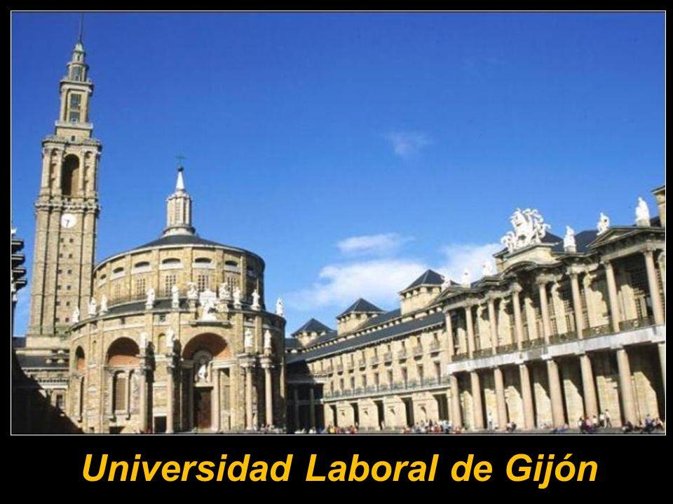 La Universidad Laboral de Gijón se encuentra situada en Gijón, concretamente en la parroquia de Cabueñes, a poco más de tres kilómetros del centro urb