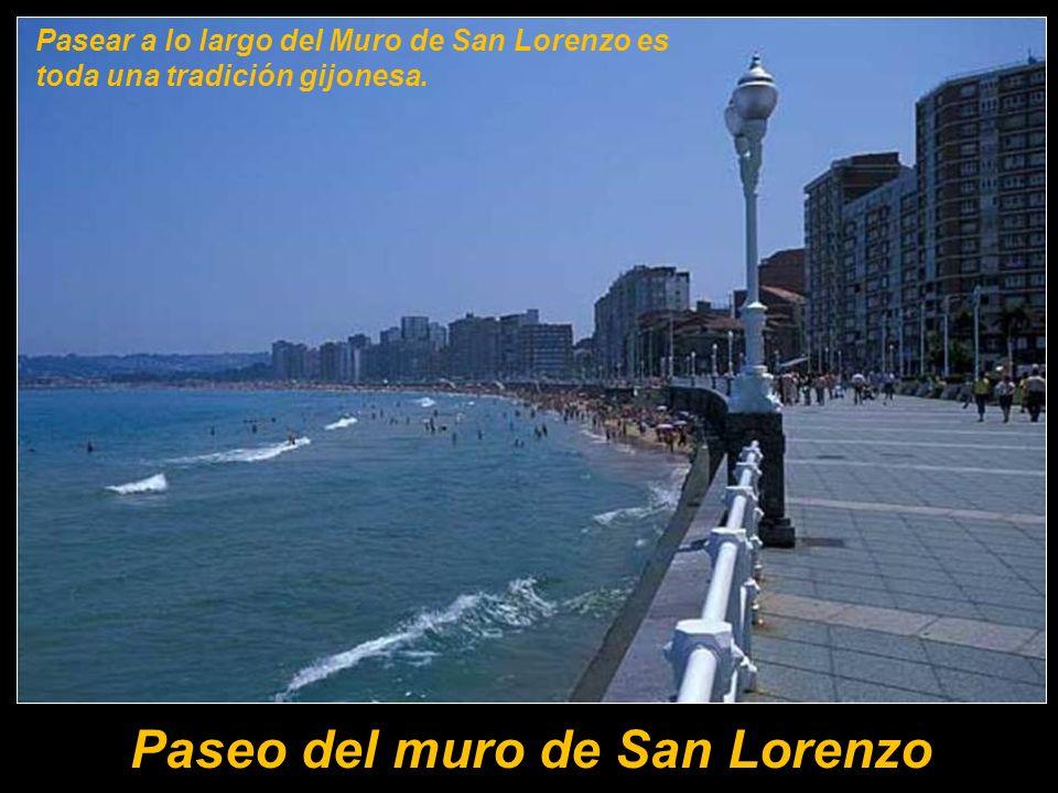 Gijón es villa marinera e industrial. Su centro histórico se sitúa en el barrio pescador de Cimadevilla. Cimadevilla separa las dos grandes playas de