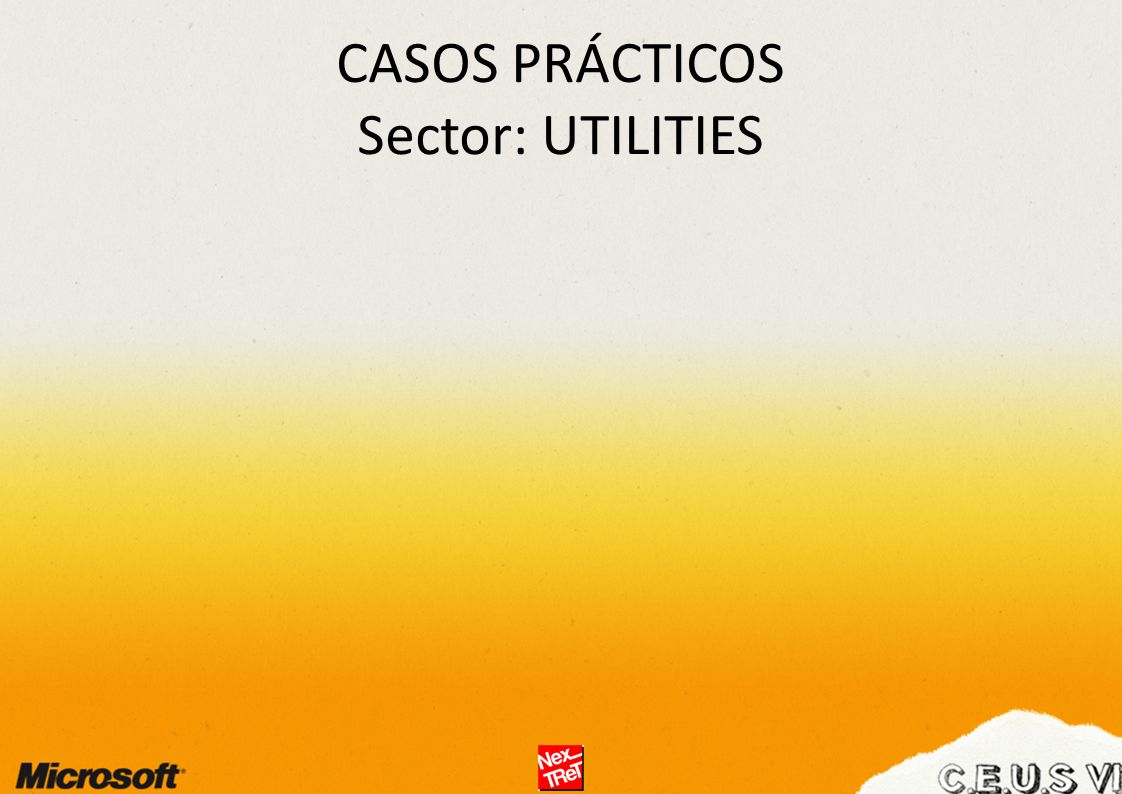 CASOS PRÁCTICOS Sector: UTILITIES