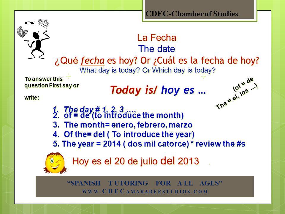 el lunes * el martes el miercoles el jueves el viernes el sábado el domingo Now some tips to talk about ¡¡Los días de la semana !.