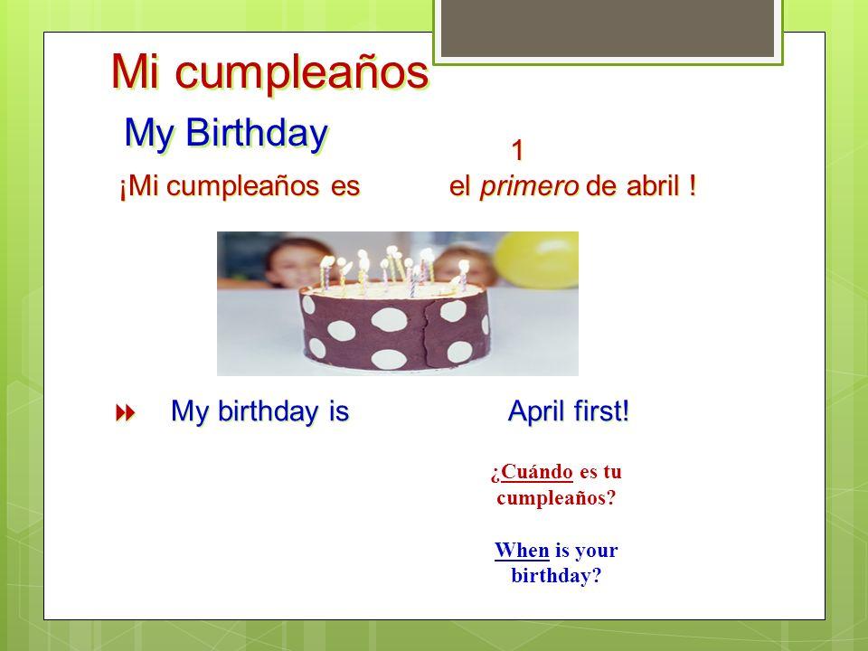 La Fecha The date ¿Qué fecha es hoy? Or ¿Cuál es la fecha de hoy? What day is today? Or Which day is today? Today is/ hoy es … 1. The day # 1, 2, 3 ….