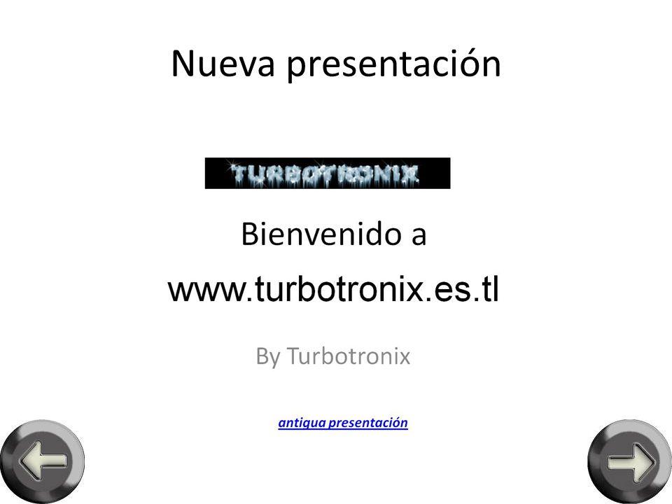 Antigua presentación nueva presentación