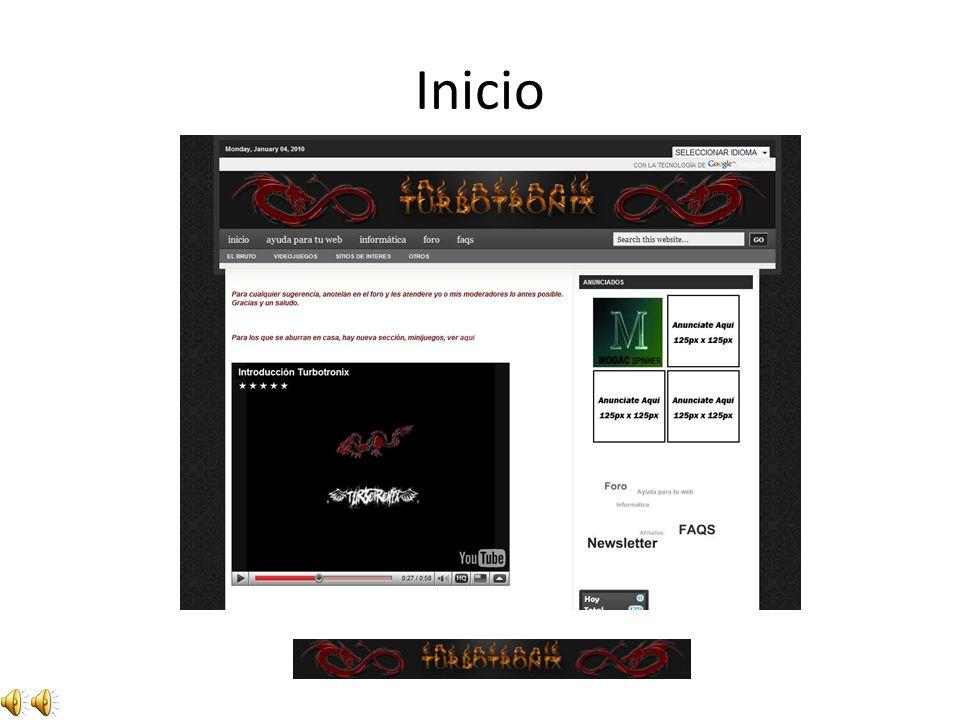 Bienvenido a By Turbotronix antigua presentación www.turbotronix.es.tl