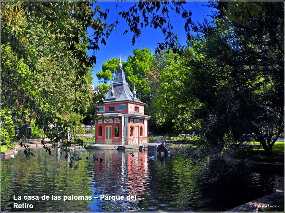 La casa de las palomas – Parque del Retiro