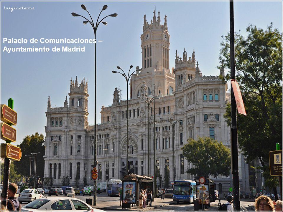 Palacio de Comunicaciones – Ayuntamiento de Madrid