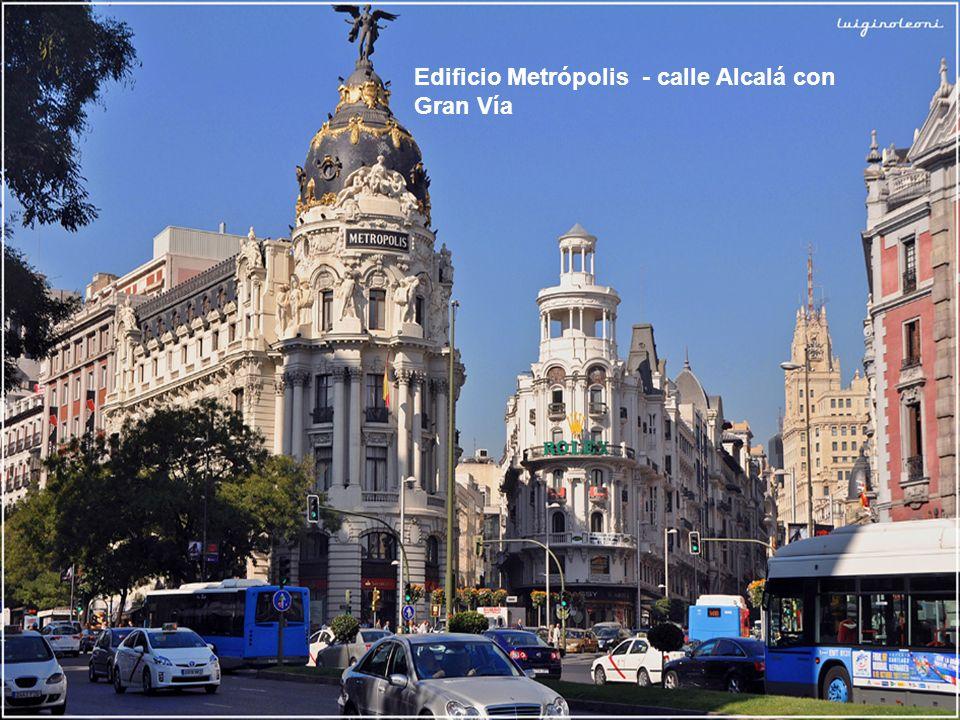 Edificio Metrópolis - calle Alcalá con Gran Vía