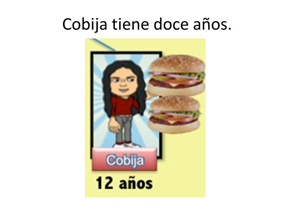 Cobija tiene doce años.