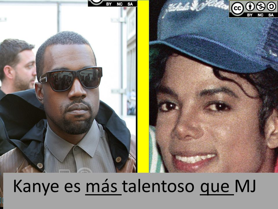 By Alan Light: flickr.com/photos/alan-light/3678966687By Alan Light: flickr.com/photos/alan-light/3678966687 Kanye es más talentoso que MJ