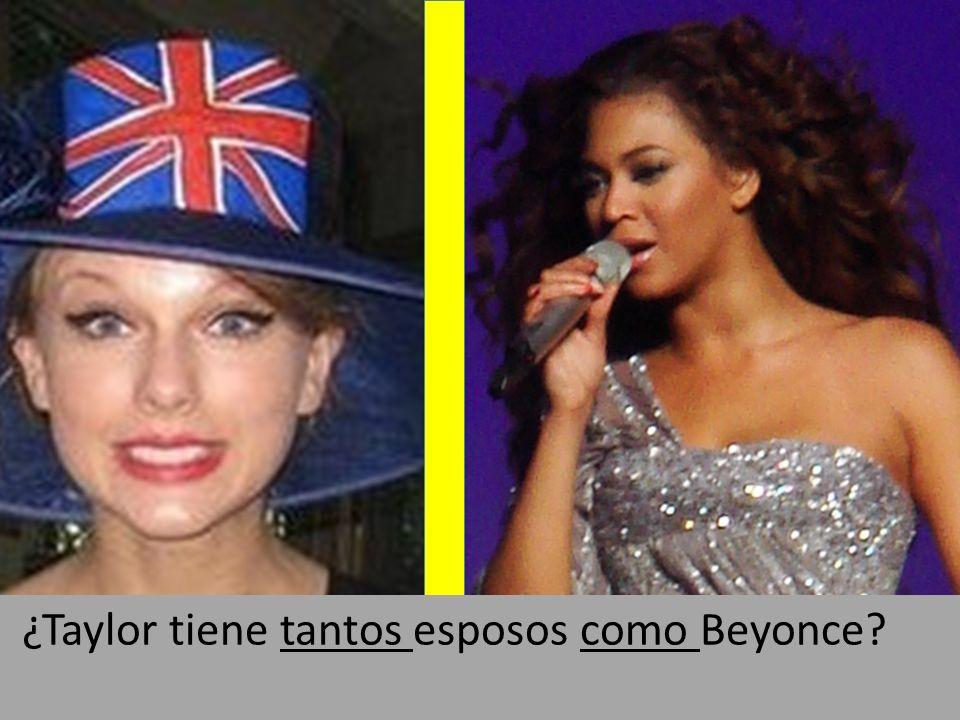 By Alain Zirah: flickr.com/photos/azed13/590084957 ¿Taylor tiene tantos esposos como Beyonce?