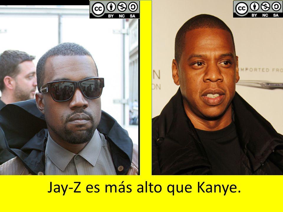 By Joella Marano: flickr.com/photos/ellasportfolio/6198085452By Joella Marano: flickr.com/photos/ellasportfolio/6198085452 Jay-Z es más alto que Kanye