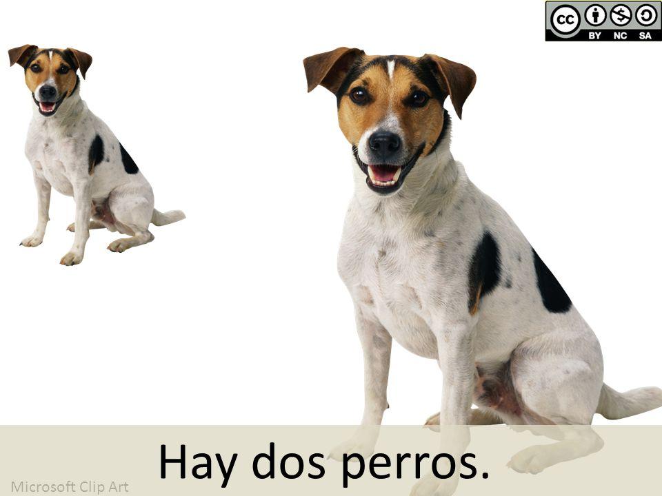 Microsoft Clip Art Hay dos perros.
