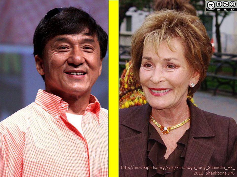 http://en.wikipedia.org/wiki/File:Judge_Judy_Sheindlin_VF_ 2012_Shankbone.JPG