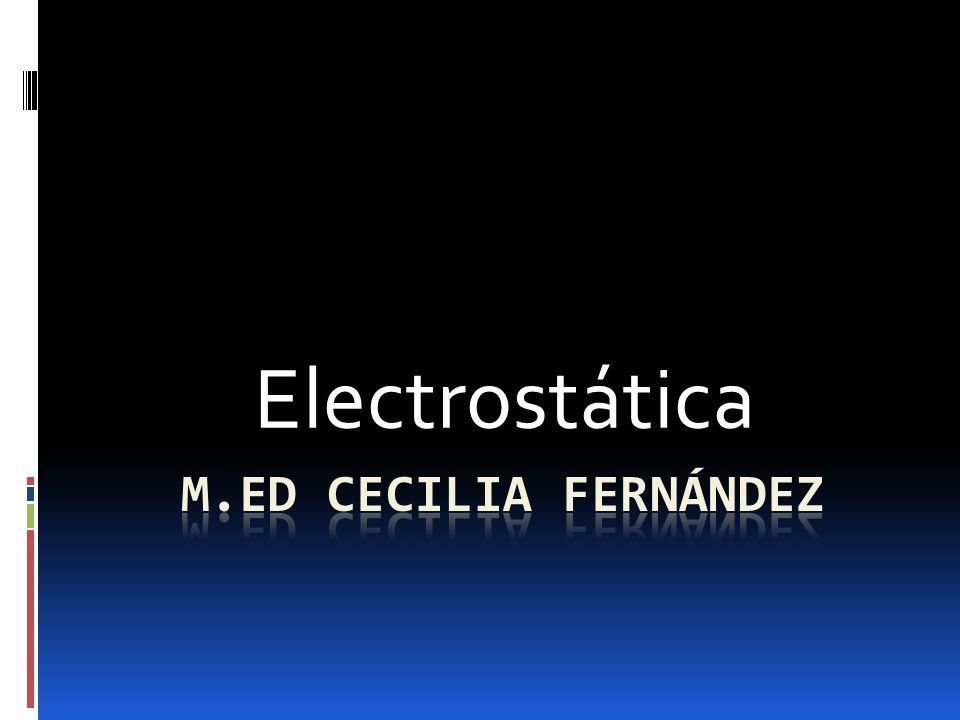 Campo eléctrico La magnitud del campo eléctrico producido por una carga en un punto P es directamente proporcional al valor de la carga e inversamente proporcional al cuadrado de la distancia entre la carga y el punto.
