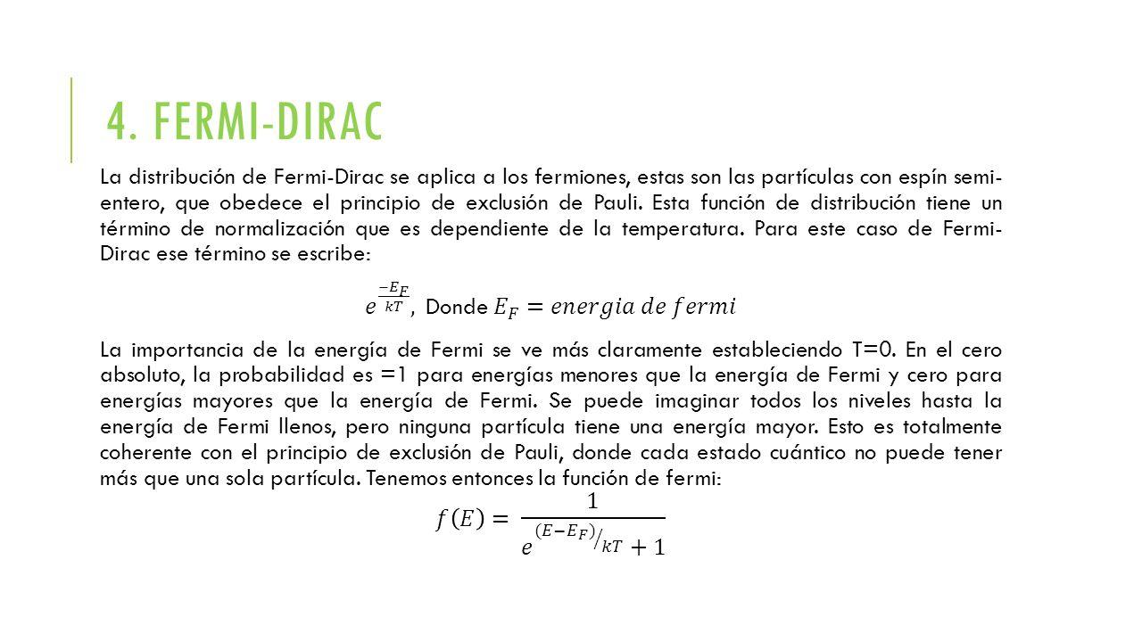 4. FERMI-DIRAC