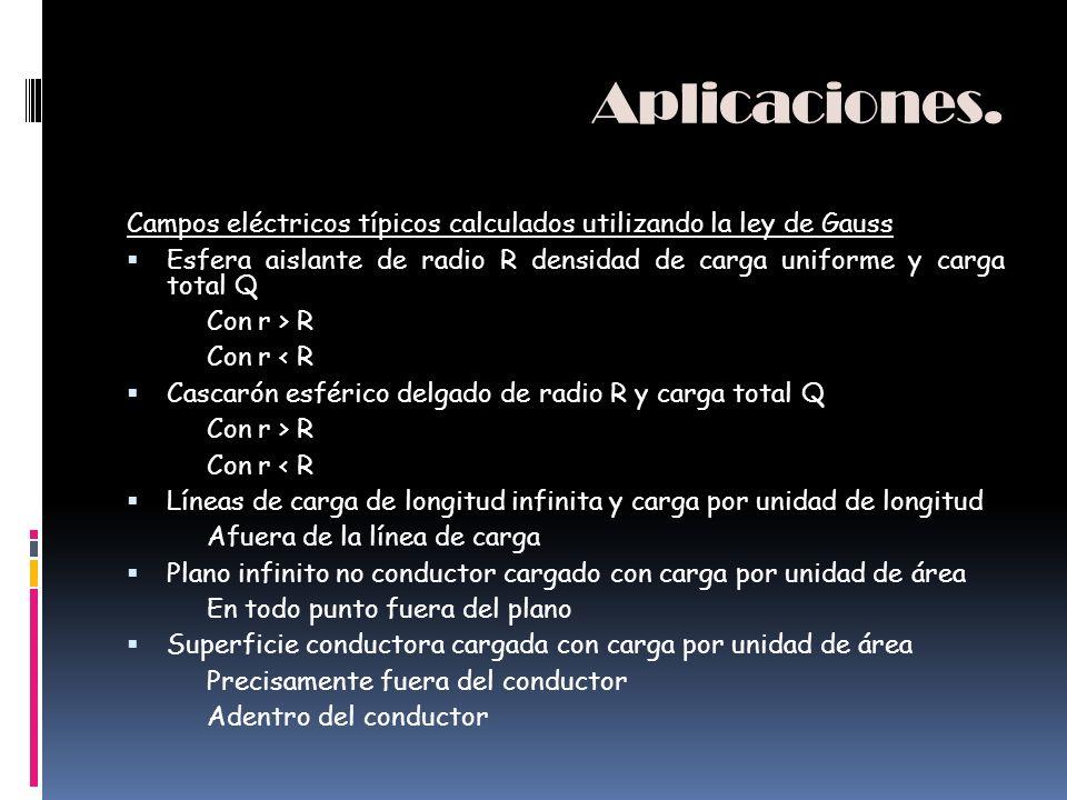 Aplicaciones Algunas de las aplicaciones de la ley de Ampère son: estudiar el campo magnético producido por una corriente que pasa a lo largo de un ci