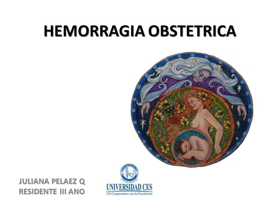 POSTPARTO:4 T TONO (Atonia uterina (70%).TRAUMA: (Desgarro del canal 20%).