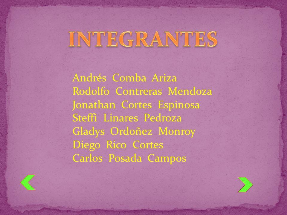Andrés Comba Ariza Rodolfo Contreras Mendoza Jonathan Cortes Espinosa Steffi Linares Pedroza Gladys Ordoñez Monroy Diego Rico Cortes Carlos Posada Cam