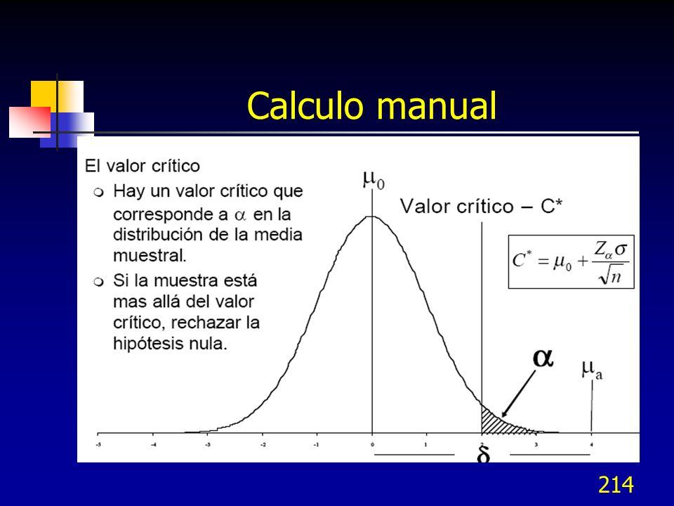 214 Calculo manual