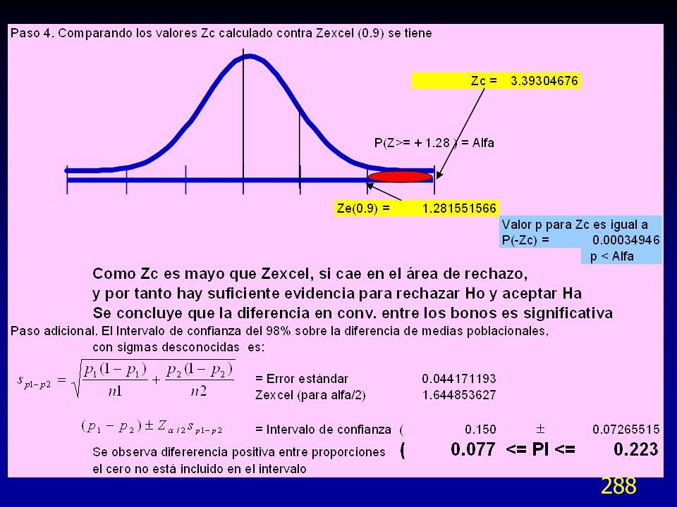 289 Robustez Los procedimientos estadísticos se basan en supuestos acerca de su comportamiento teórico.