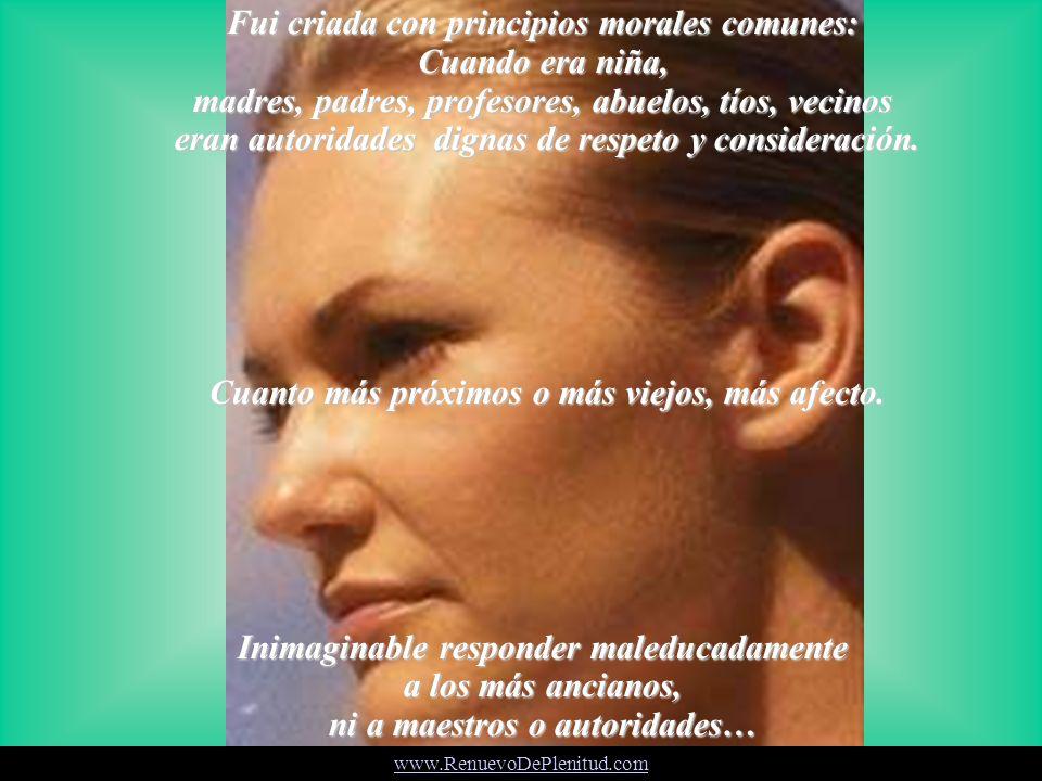 ¿Cuándo fue que todo desapareció o se hizo ridículo? www.RenuevoDePlenitud.com