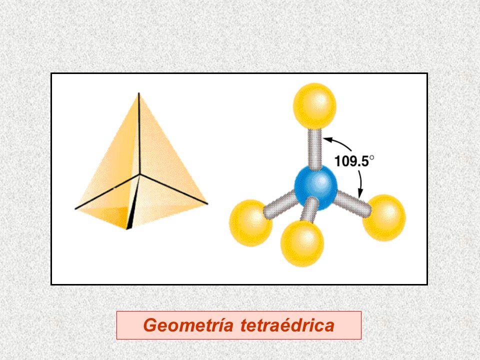 Geometría tetraédrica
