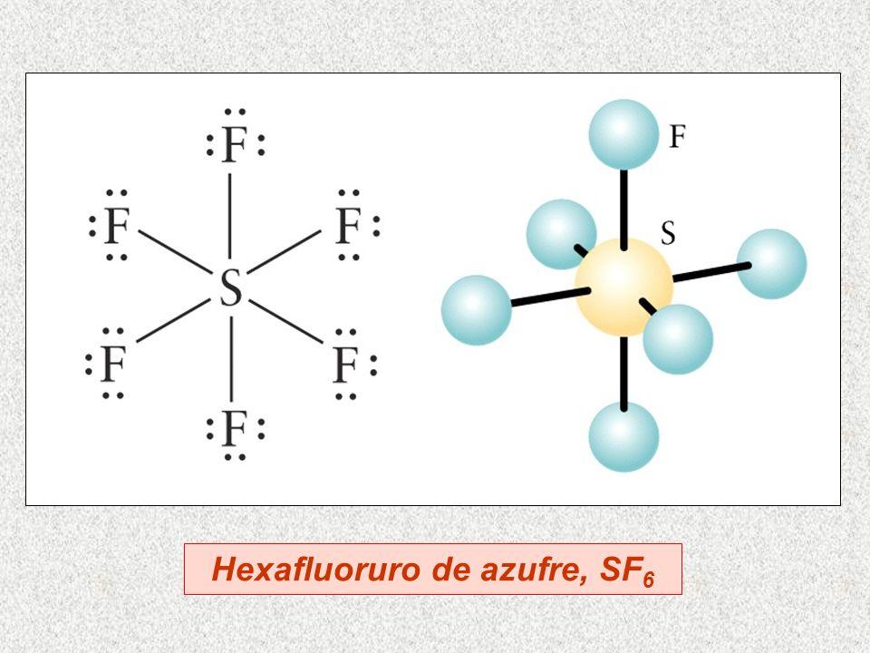 Hexafluoruro de azufre, SF 6