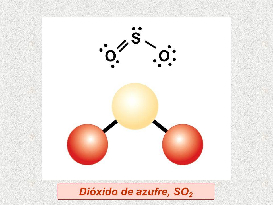 S OO Dióxido de azufre, SO 2