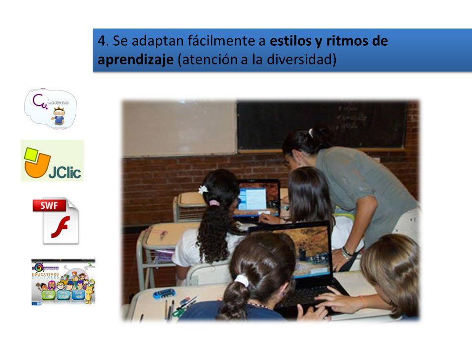 3. Las TIC potencian la visión del alumno/a como individuo a la vez que dan soporte a la participación y la colaboración social. Trabajar en equipo mo