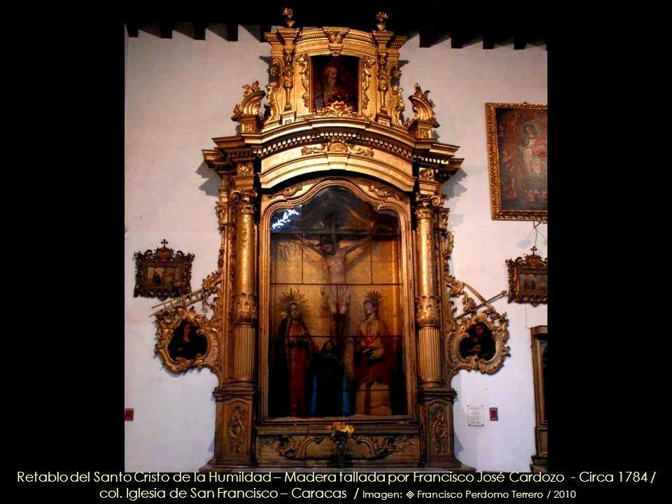 4.- Historia de la Virgen: La Coronación, La Asunción y La Dormición de La Virgen / Óleo sobre tela de Juan Pedro López – Circa 1750 / Capilla Santo N