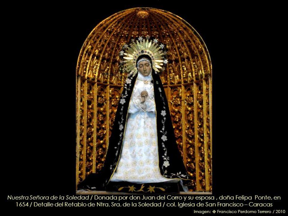 El Espíritu Santo – Detalle retablo de Ntra. Sra. de la Soledad – Circa 1780 / col. Iglesia de San Francisco – Caracas / Imagen: Cristina Pomponi / 20