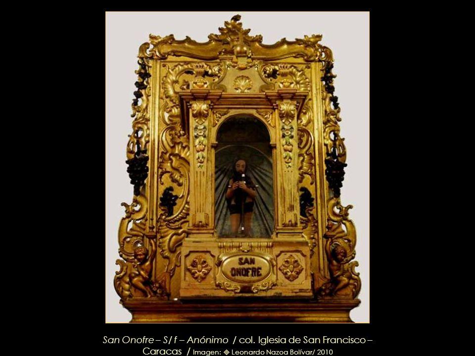 Nuestra Señora de la Soledad / Donada por don Juan del Corro y su esposa, doña Felipa Ponte, en 1654 / Detalle del Retablo de Ntra. Sra. de la Soledad
