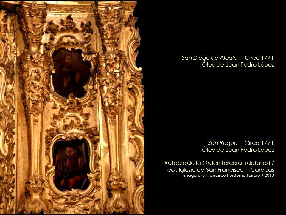 Santo Cristo de la Humildad y Paciencia Circa 1750 Retablo de la Orden Tercera (detalle) / col. Iglesia de San Francisco – Caracas Imagen: Francisco P