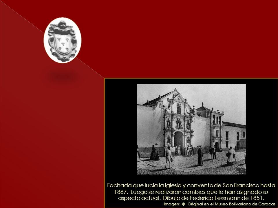 Detalle del plano de la fachada de la Iglesia de San Francisco, realizado por el Maestro de Albañilería Antonio Ruiz de Ullán, en 1573. La construcció