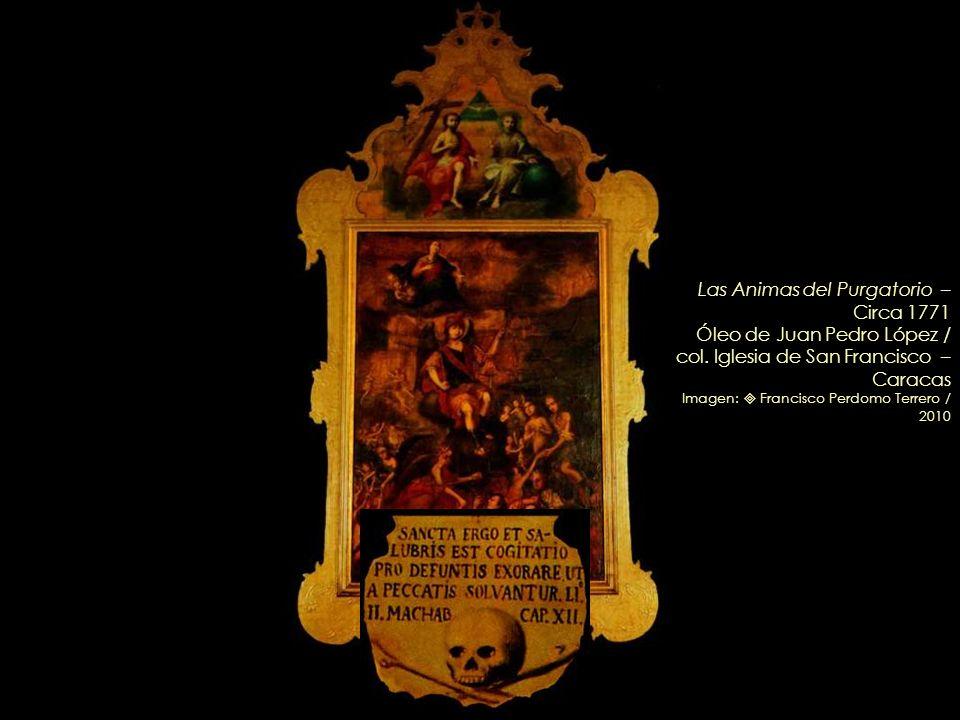 La Coronación de la Virgen por José Francisco Rodríguez – 1798 Detalle Retablo de la Santísima Trinidad /col. Iglesia de San Francisco – Caracas Image