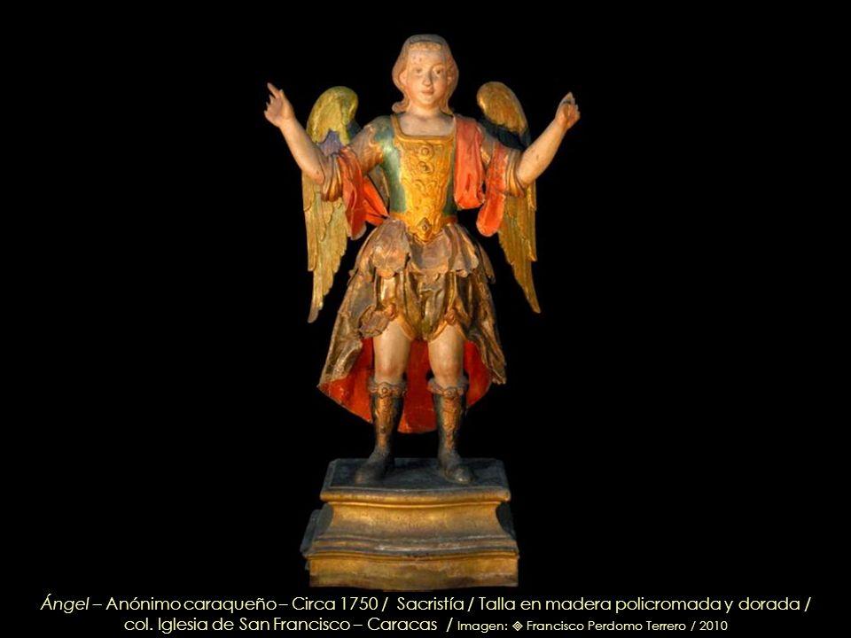 S. Stanislao Kostka S. J. – Probablemente de Juan Pedro López – Circa 1760 – Óleo sobre lienzo / col. Iglesia de San Francisco – Caracas / Imagen: Fra