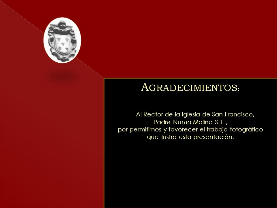 Textos: Francisco Perdomo Terrero Imágenes: Carlos Germán Rojas Cristina Pomponi (2010) Leonardo Nazoa Bolívar (2010) Francisco Perdomo Terrero (1975