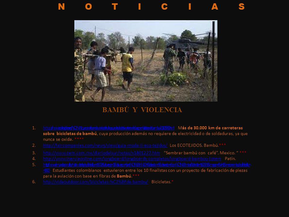 NOTICIAS 1.http://www.cookingideas.es/%C2%A1que-cana-llevando-una-botella-de-agua-desde-alaska-a-tierra-de-fuego-en-bicicletas-de-bambu-20100930.html