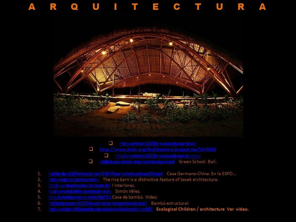 1.http://homedesigninspiration.com/decoration-ideas/bamboo-for-decorating-living-room-and-furniture / Interiores.http://homedesigninspiration.com/decoration-ideas/bamboo-for-decorating-living-room-and-furniture / 2.h ttp://www.wepapers.com/Papers/10477/Modern_bamboo_architectur e Modern bamboo architecture.h ttp://www.wepapers.com/Papers/10477/Modern_bamboo_architectur e 3.http://blog.securibath.com/2010/09/24/lavabo-de-bambu-bu/ Lavamanos mixto.http://blog.securibath.com/2010/09/24/lavabo-de-bambu-bu/ 4.http://www.taringa.net/posts/taringa/7159114/Como-hacer-una-fuente-de-agua-feng-shui-con-canas-de-bambu.html Cómo hacer una fuente de cañas de bambú.http://www.taringa.net/posts/taringa/7159114/Como-hacer-una-fuente-de-agua-feng-shui-con-canas-de-bambu.html 5.http://www.modayhogar.com/tarima-para-exterior-de-bambu-bamboo-x-treme-de-moso Bambú prensado a alta densidad.http://www.modayhogar.com/tarima-para-exterior-de-bambu-bamboo-x-treme-de-moso 6.http://www.sigguadua.gov.co/index.php?option=com_events&Itemid=1&task=view_year&month=10&year=2010 ENCUESTA.