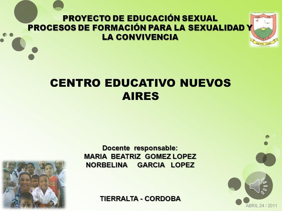 El Proyecto Pedagógico de Educación para la Sexualidad y la Construcción de Ciudadanía está enmarcado dentro de las competencias básicas, en especial en las científicas y las ciudadanas, con las que comparte la perspectiva de los derechos humanos.