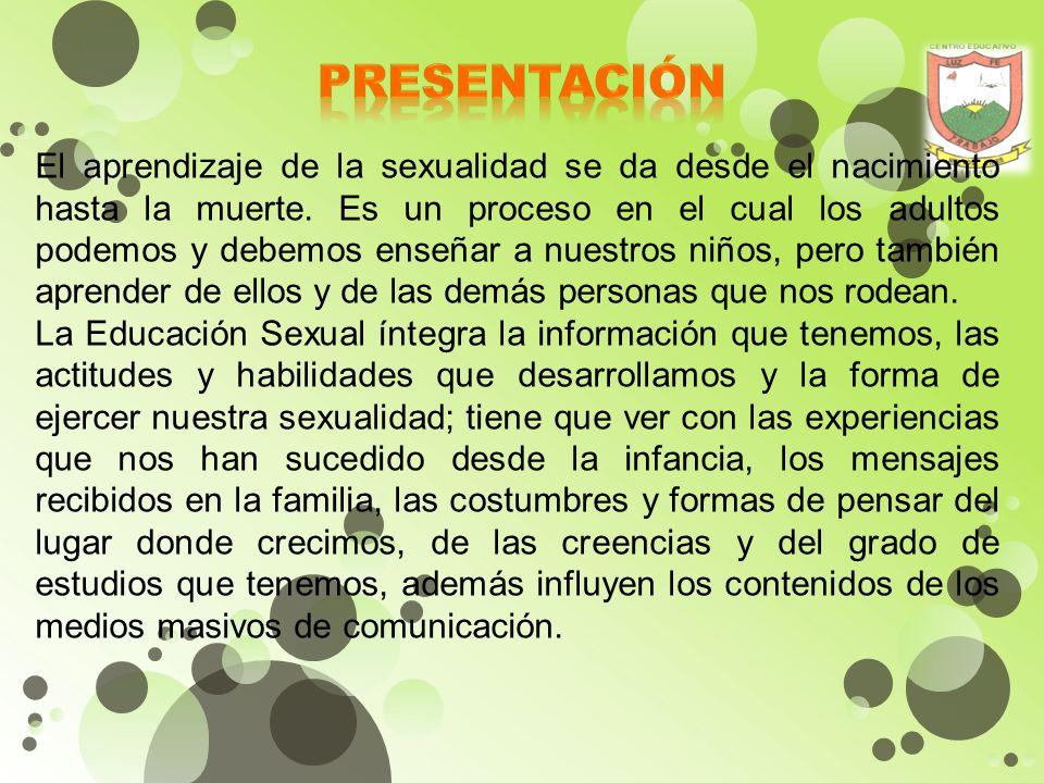 . El Proyecto Pedagógico de Educación para la Sexualidad y la Construcción de Ciudadanía está enmarcado dentro de las competencias básicas, en especia