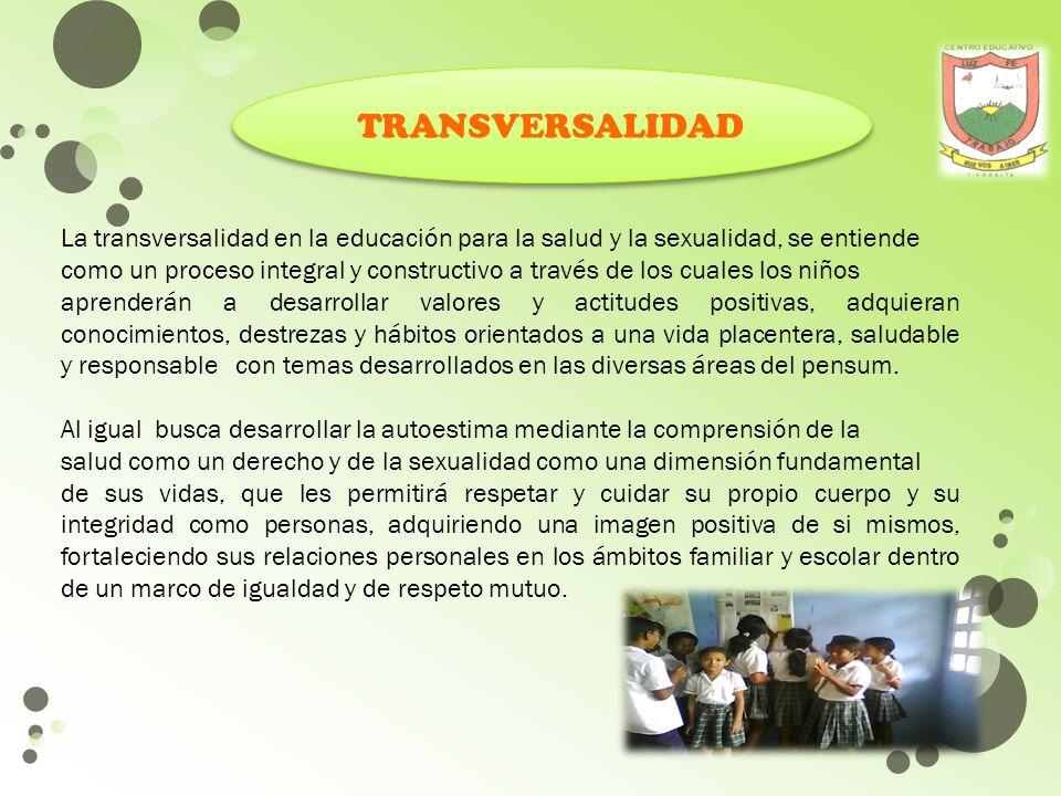 SITUACIONES COTIDIANAS DESARROLLO DE COMPETENCIAS CONOCIMIENTOS ESPECIFICOS DE LA SEXUALIDAD CONOCIMIENTOS ESPECIFICOS DE LA SEXUALIDAD COGNITIVAS COG