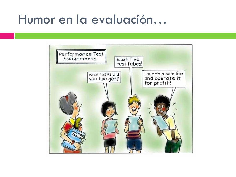 Humor en la evaluación…