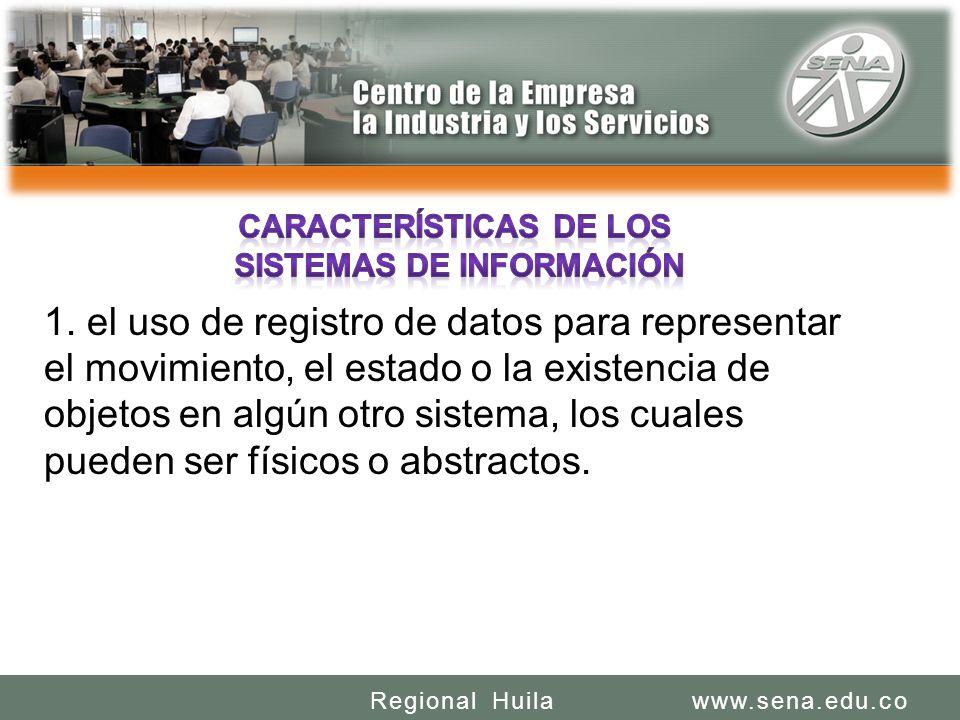 SENA REGIONAL HUILA CENTRO DE LA INDUSTRIA LA EMPRESA Y LOS SERVICIOS www.sena.edu.coRegional Huila 1.