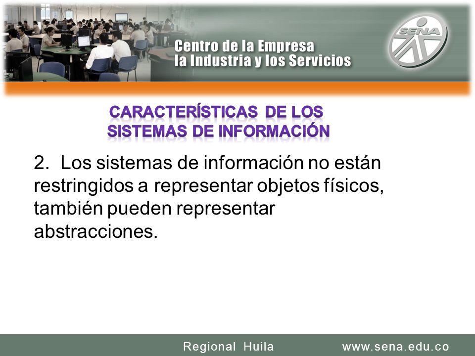 SENA REGIONAL HUILA REGIONAL HUILA CENTRO DE LA INDUSTRIA LA EMPRESA Y LOS SERVICIOS www.sena.edu.coRegional Huila 2.