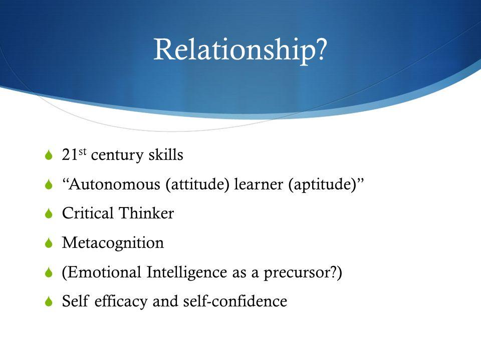Habit 15: Think interdependently 16 Hábitos de la Mente descargado el 19 de septiembre 2009 de www.msm.qld.edu.au/pdfs/Curriculum/29%20May%202008.pdf
