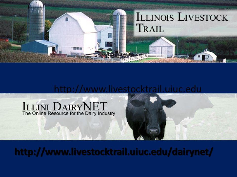 http://www.livestocktrail.uiuc.edu http://www.livestocktrail.uiuc.edu/dairynet/