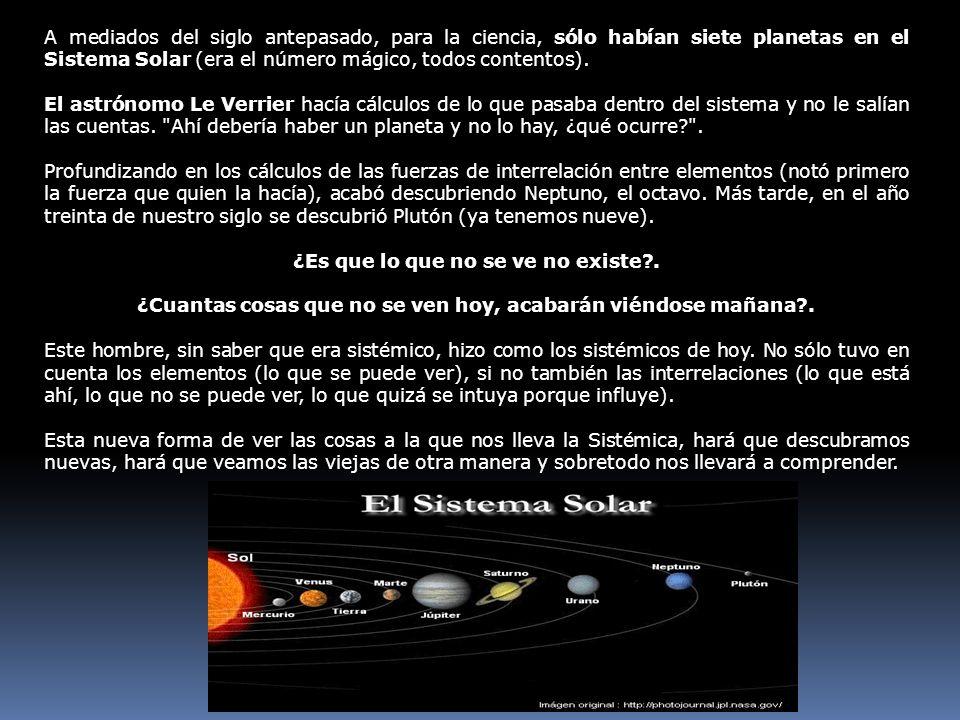 A mediados del siglo antepasado, para la ciencia, sólo habían siete planetas en el Sistema Solar (era el número mágico, todos contentos). El astrónomo