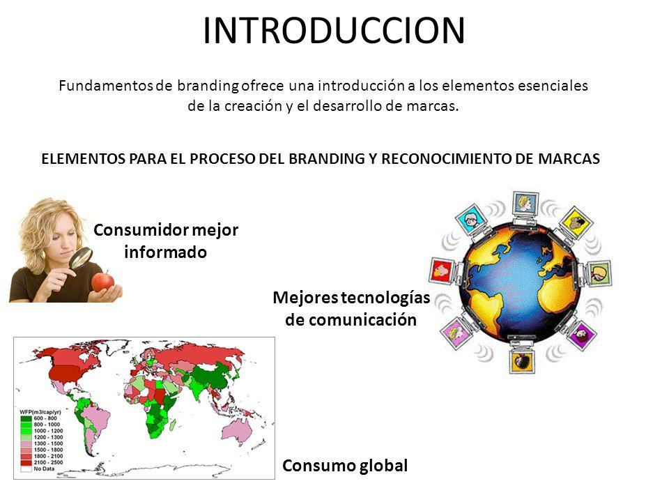 INTRODUCCION Fundamentos de branding ofrece una introducción a los elementos esenciales de la creación y el desarrollo de marcas. ELEMENTOS PARA EL PR