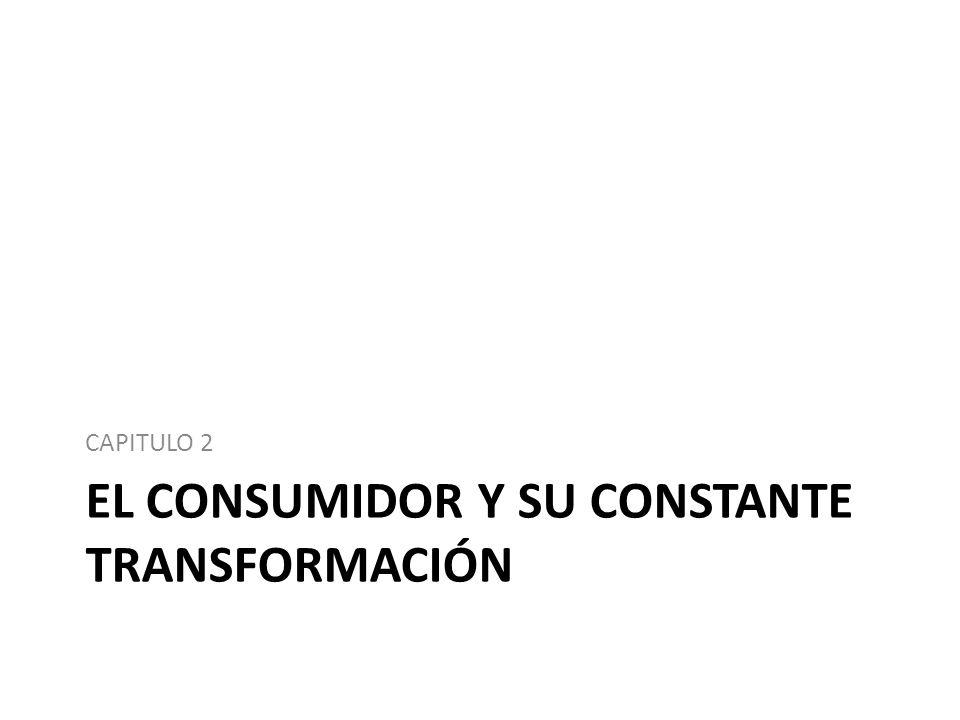 EL CONSUMIDOR Y SU CONSTANTE TRANSFORMACIÓN CAPITULO 2