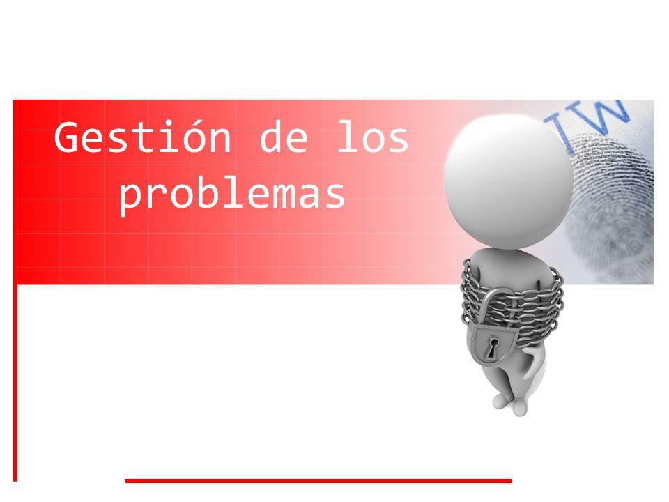 Gestión de los problemas